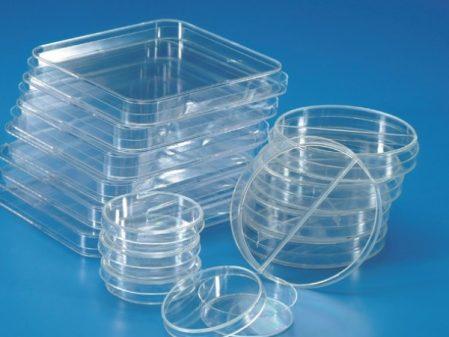 Đĩa petri nhựa polystyrene phi 60mm, 90mm, 120mm, 150mm