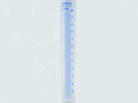 ống đong nhựa vạch xanh, vạch trắng (nhiều dung tích)